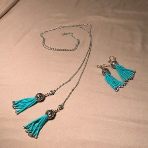 Brighton Boho Roots Necklace and Earring set